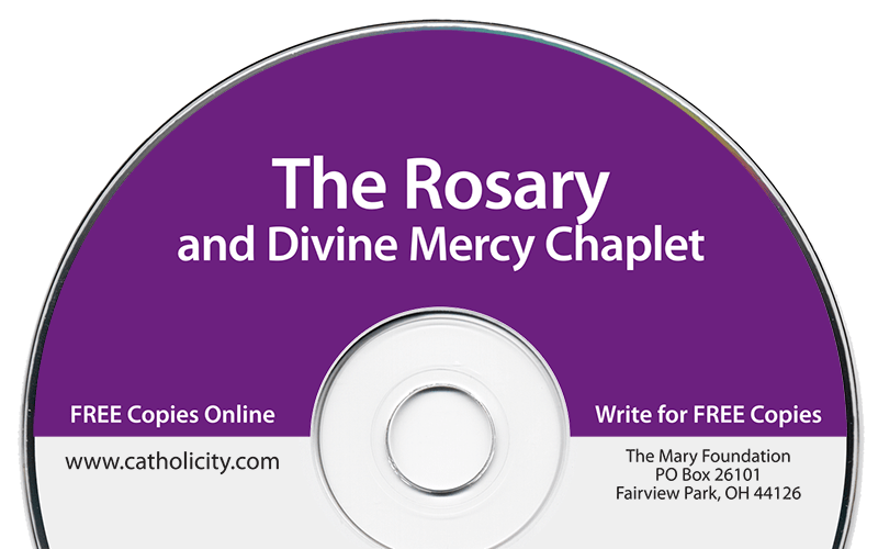 The Rosary & Divine Mercy Chaplet